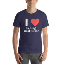 Load image into Gallery viewer, I (Heart) Selling Short-Sleeve Unisex T-Shirt