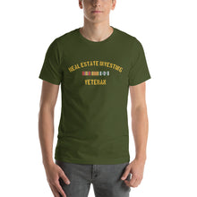 Load image into Gallery viewer, Real Estate Investing Veteran Short-Sleeve Unisex T-Shirt