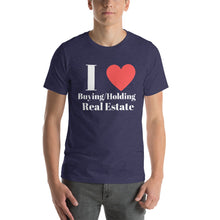 Load image into Gallery viewer, I (Heart) Buying & Holding Short-Sleeve Unisex T-Shirt