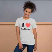 Load image into Gallery viewer, I (Heart) Real Estate Short-Sleeve Unisex T-Shirt