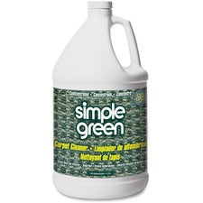 Simple Green Concentrated Carpet Cleaner - Concentrate Liquid - 128 fl oz (4 quart) - 1 Each - White