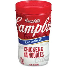 Soup At Hand Microwavable Soup at Hand - Microwavable - Chicken Noodle - 10.75 oz - 8 / Carton