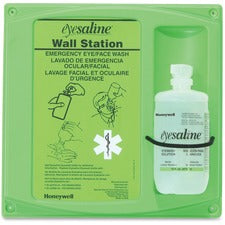 "Sperian Fendall Saline Eyewash Wall Station - 24.5"" x 8.5"" x 14.5"""