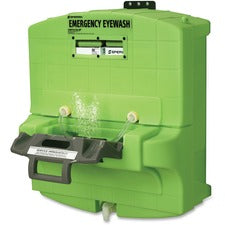 "Sperian Fendall Pure Flow Eyewash Station - 0.25 Hour - 30"" x 23"" x 30"" - Green"