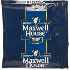 Maxwell House Regular Coffee Packs Ground - Regular - 1.1 oz - 42 / Carton