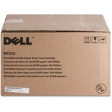 Dell Toner Cartridge - Laser - High Yield - 20000 Pages - Black - 1 Each
