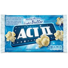 Act II Microwave Popcorn Bulk Box - Microwavable - Light Butter - 2.75 oz - 36 / Carton