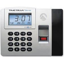 Pyramid Time Systems Elite Biometric Time/Attendance System - Biometric, Key Code - 50 Employees - Digital - Week, Bi-weekly, Month, Semi-monthly Record Time