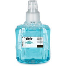 Gojo® LTX-12 Pomeberry Foam Handwash Refill - Pomeberry Scent - 40.6 fl oz (1200 mL) - Hand - Light Blue - Moisturizing - 1 Each
