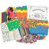 Creativity Street 100th Day Of School Activity Box - Decoration - 100 Piece(s) - 1 Box - Assorted