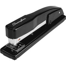 "Swingline® Commercial Desk Stapler - 20 Sheets Capacity - 210 Staple Capacity - Full Strip - 1/4"" Staple Size - Black"