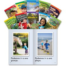 Shell Education TFK 1st-grade Spanish 10-Book Set 3 Printed Book - Book - Grade 1 - Spanish