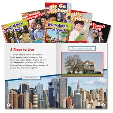 Shell Education Education Community and Family Book Set Printed Book - Book - Grade K-3