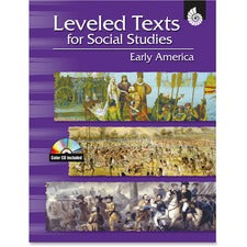 Shell Early America Leveled Texts Book Education Printed/Electronic Book for Social Studies - Published on: 2007 April 05 - Book, CD-ROM - 144 Pages