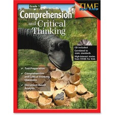 Shell Education Grade 1 Comprehension/Critical Thinking Book Printed/Electronic Book - Shell Educational Publishing Publication - Book, CD-ROM - Grade 1 - English