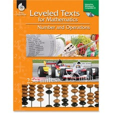 Shell Grades 3-12 Number/Ops Leveled Texts Book Education Printed/Electronic Book for Mathematics by Stephanie Paris - English - Published on: 2011 June 01 - Book, CD-ROM - 144 Pages