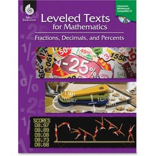 Shell Fractions/Math Leveled Texts Book Education Printed/Electronic Book for Mathematics by Lori Barker - English - Published on: 2011 June 01 - CD-ROM, Book - 144 Pages