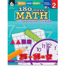 Shell Education 18 Days of Math for 2nd Grade Book Education Printed/Electronic Book for Mathematics by Jodene Smith - English - Published on: 2011 April 08 - Book, CD-ROM - 208 Pages