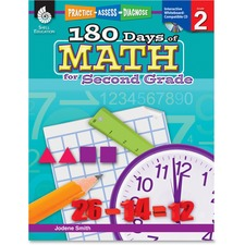 Shell Education Education 18 Days of Math for 2nd Grade Book Printed/Electronic Book by Jodene Smith - Shell Educational Publishing Publication - April 2011 - Book, CD-ROM - Grade 2 - English