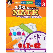 Shell Education Education 18 Days of Math for 3rd Grade Book Printed/Electronic Book by Jodene Smith - Shell Educational Publishing Publication - April 2011 - Book, CD-ROM - Grade 3 - English