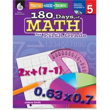 Shell Education Education 18 Days of Math for 5th Grade Book Printed/Electronic Book by Jodene Smith - Shell Educational Publishing Publication - April 2011 - Book, CD-ROM - Grade 5 - English
