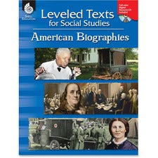Shell American Bios Leveled Texts Book Education Printed/Electronic Book for Social Studies - Book, CD-ROM - 152 Pages