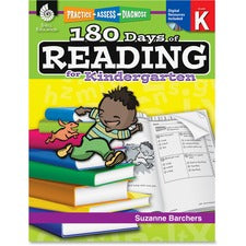 Shell Education Education 18 Days Reading for Kndrgrtn Book Printed/Electronic Book by Suzanne Barchers, Ed.D. - Shell Educational Publishing Publication - CD-ROM, Book - Grade K