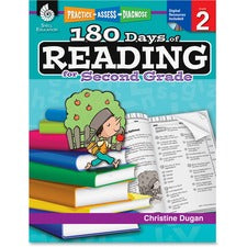 Shell Education Education 18 Days of Reading 2nd-Grade Book Printed/Electronic Book by Christine Dugan, M.A.Ed. - Shell Educational Publishing Publication - CD-ROM, Book - Grade 2
