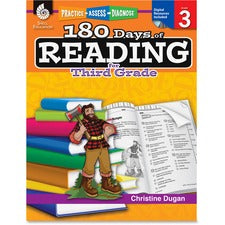 Shell Education 18 Days of Reading 3rd-Grade Book Education Printed/Electronic Book by Christine Dugan, M.A.Ed. - CD-ROM, Book - 240 Pages