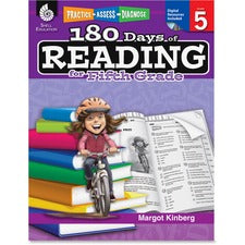 Shell Education Education 18 Days of Reading 5th-Grade Book Printed/Electronic Book by Margot Kinberg - Shell Educational Publishing Publication - CD-ROM, Book - Grade 5 - English