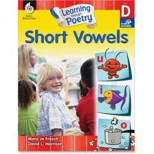 Shell Education K-2nd Learn Poetry Short Vowels Book Printed Book by Mary Jo Fresch, David L. Harrison - Shell Educational Publishing Publication - Book - Grade K-2 - English