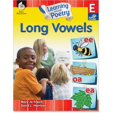 Shell Education K-2nd Learn Poetry Long Vowels Book Printed Book by Mary Jo Fresch, David L. Harrison - Shell Educational Publishing Publication - April 2013 - Book - Grade K-2 - English