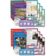 Shell Soc.Studies Leveled Texts 6-book Set Education Printed/Electronic Book for Social Studies - CD-ROM, Book