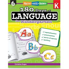 Shell Education Education 18 Days/Language Kindrgrtn Book Printed Book by Jodene Smith - Shell Educational Publishing Publication - Book - Grade K