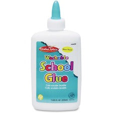 CLI Washable School Glue - 7.63 fl oz - 1 Each - White