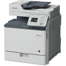 Canon imageCLASS MF800 MF810CDN Laser Multifunction Printer - Color - Copier/Fax/Printer/Scanner - ppm Mono/26 ppm Color Print - 1200 x 1200 dpi Print - Automatic Duplex Print - 600 dpi Optical Scan - 650 sheets Input - Gigabit Ethernet - Wireless LAN