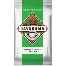 DS Services Javarama Decaf Signature Blend Coffee - Decaffeinated - Signature Blend - 2 oz Per Pack - 24 Packet - 24 / Carton