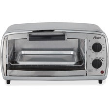 Oster Sunbeam Toaster Oven - 1000 W - Toast, Broil, Bake, Bagel, Roast - Brushed Stainless Steel