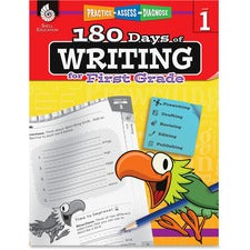 Shell Education 1st Grade 180 Days of Writing Book Printed Book - Shell Educational Publishing Publication - Book - Grade 1