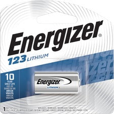 Energizer Lithium 123 3-Volt Battery - For Multipurpose - 3 V DC - Lithium (Li) - 24 / Carton
