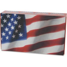 "Aurora Carrying Case Pencil - Crack Resistant, Break Resistant - Plastic, Paperboard - U.S. flag - 8.6"" Height x 5"" Width x 2.3"" Depth"
