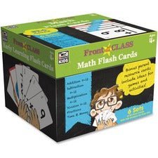 Carson-Dellosa Grades PreK-3 Math Flash Cards - Theme/Subject: Learning - Skill Learning: Addition, Subtraction, Multiplication, Division, Fraction, Time, Money - 4-9 Year