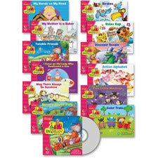 Creative Teaching Press Sing/Read Along Pack Education Printed/Electronic Book - CD-ROM, Book - 12 Pages
