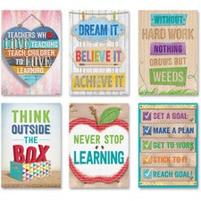 Creative Teaching Press Inspire U Poster Pack - Multicolor