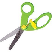 "Helix 5"" Educational Scissors - 5"" Overall Length - Stainless Steel - Blunted Tip - Assorted - 10 / Pack"