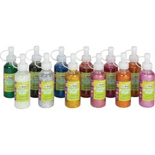 Creativity Street Glitter Glue - 3 Year - 12 / Set - Assorted