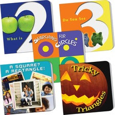 Teacher Created Resources PreK Counting/Math 5-book Set Printed Book - Teacher Created Resources Publication - Book