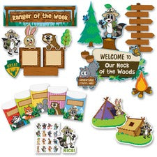 "Teacher Created Resources Ranger Rick Bulletin Board Set - Acid-free - 2"" Height x 18"" Width x 30.25"" Length - Multicolor - 1 Set"