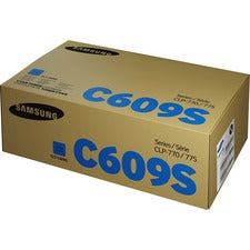 Samsung CLT-C609S (SU086A) Toner Cartridge - Cyan - Laser - 7000 Pages - 1 Each