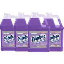 Fabuloso Professional All Purpose Cleaner & Degreaser - Concentrate Liquid - 128 fl oz (4 quart) - Lavender Scent - 4 / Carton - Purple